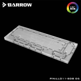 $enCountryForm.capitalKeyWord Australia - Barrow waterway plate for Lianli O11 computer case 5V RBW LRC2.0,Compatible with D5 DDC pump,water cooler Building channel board