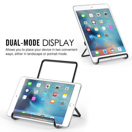 Universal Tablet Pc Holder Australia - New Foldable Tablet Stand Universal Adjustable Portable Metal Holder for Tablets PC for iphone samsung huawei