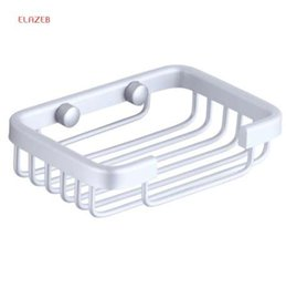 Wholesale Power Grip Suction Cup Stainless Steel Soap Dishes Soap Tray Holder Storage Soap