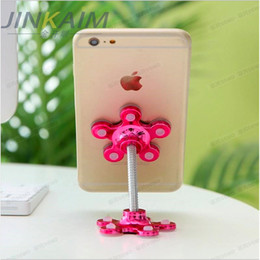 $enCountryForm.capitalKeyWord Australia - 5PCS Sucker Stand Phone Holder Rotatable Magic Suction Cup Mobile Phone Holder Car Bracket Smartphone Tablets