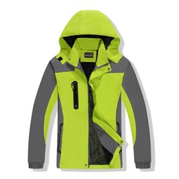 Jackets xxxl waterproof online shopping - Outdoors Jackets Mountaineering Clothingwind Break Loose Coat Sports Lovers Couple Pizex Monolayer Colors Mix Spring And Autumn Fashion dt