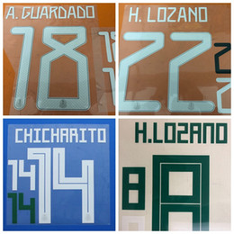$enCountryForm.capitalKeyWord NZ - 2018 2019 2020 Mexico A.GUARDADO M.LAYUN H.LOZANO G.DOSSANTOS CHICHARITO font Name number Print patches badges,Soccer Hot stamping Badges