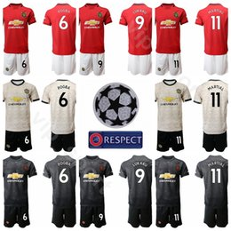$enCountryForm.capitalKeyWord Australia - Manchester Soccer United 2019 2020 Men 6 Paul Pogba Jersey Set 9 Anthony Martial 5 Harry Maguire 2 Victor Lindelof Football Shirt Kits