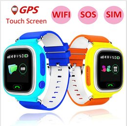 Kids Smart Gps Tracking Watch Australia - Q90 GPS Tracking Watch Touch Screen WIFI Location Smart Watch Children SOS Call Finder Tracker for Kids Safe with retail package