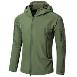 f64b5ac101ec5 Orange hunting cOats online shopping - Tactical Jacket Men Outwear  Windbreaker Waterproof Soft Shell Army Camouflage