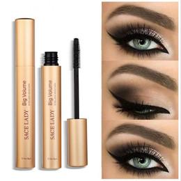 Volume up mascara online shopping - SACE LADY Mascara Makeup Brand Curling Thick Black Eye Lashes Rimel Professional Make Up Volume Natural Eyelash Cosmetic DHL