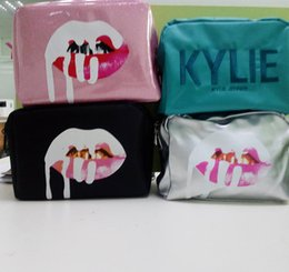kylie lip bag Australia - in stock Kylie bags Cosmetics Birthday Bundle Bronze Kyliner Copper Creme Shadow Lip Kit Make up Storage Bag pink silver black green
