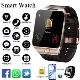 $enCountryForm.capitalKeyWord Australia - Bluetooth Smart Watch DZ09 Smartwatch Android Phone Call Connect Watch Men 2G GSM SIM TF Card Camera For iPhone Samsung HUAWEI