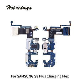 Connector Plus Australia - 50Pcs High Quality USB Charger Charging Port Dock Connector Flex Cable Replacement For Samsung Galaxy S8 G950F G950U S8 Plus G955F Free DHL