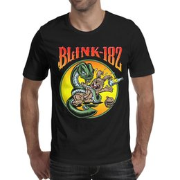 $enCountryForm.capitalKeyWord Australia - Blink 182 punk rock Snake rabbit 2019 Summer make a T Shirt For Men champion cotton shirts