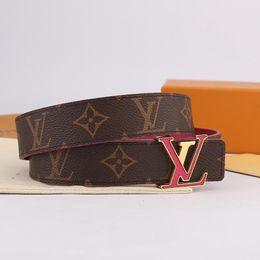 $enCountryForm.capitalKeyWord Australia - Designer Belts INITIALES Double-Sided Belt Made in Spain 3cm Printed Black Calfskin Metal Letters 2019 Luxury Fashion Accessories