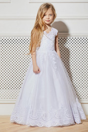 party kids special occasion dresses NZ - New Charming Special Occasion Dress Pincess Pageant Flower Girl Dresses Wedding Party Dress Kids Gown Children Dress GHA14
