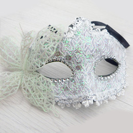 Popular Face Masks Australia - Venetian Party Mask Women Masquerade Sexy Lace Ball Mask Party Festival Hot Popular Face Eye 7 Colors
