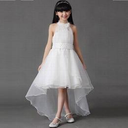$enCountryForm.capitalKeyWord Australia - Beautiful Pincess Flower Girl Dresses Kids Pageant Party Wedding Birthday Prom Children Dress GHST36