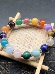 Reiki Healing Wholesalers Australia - Newest color stone Bracelet,Natural Stone Yoga Bracelet,Healing Reiki Prayer Balance Buddha Beads Bracelet