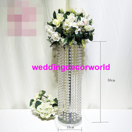 $enCountryForm.capitalKeyWord Australia - New product high safety crystal wedding flower stands for table wedding centerpiece decor700