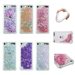 $enCountryForm.capitalKeyWord NZ - Soft Fashion Love Heart Quicksand Liquid Glitter Silicone Phone Case for iPhone xs max 6.5 iPhone xr Air Cushion Corner Shockproof 04