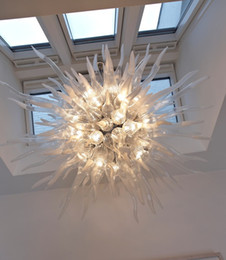 $enCountryForm.capitalKeyWord NZ - Fancy Clear Ball Hand Blown Glass Chandelier Lighting LED Light Hanging Lamps Pendant Lamps showroom Chandeliers