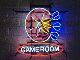 Game Bar Australia - New Star Neon Sign Factory 17X14 Inches Real Glass Neon Sign Light for Beer Bar Pub Garage Room GAME ROOM TN295.