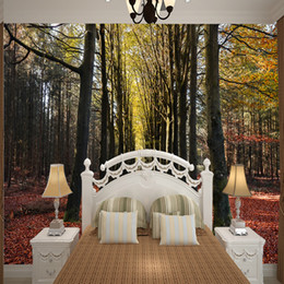 $enCountryForm.capitalKeyWord Australia - 3D extended space photo wallpaper with autumn sunshine and forest home wall background of warm landscape