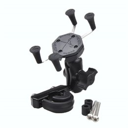 Discount motorcycle cell phone charger - Cell Phone Adjustable Mounts Holder With Motorcycle USB Cable Charger for GPS Phone for Motorcycle Bike Outdoor Riding S