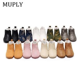 baby prewalkers first shoes NZ - Baby Shoes Toddler Shoes PU Soft Soled Crib Infant Boy Girl First Walkers Prewalkers Winter Bottom Anti-Slip Ankle Boots