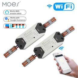 $enCountryForm.capitalKeyWord Australia - 2 Pieces WiFi Smart Light Switch Universal Breaker Timer Wireless Remote Control Works with Alexa Google Home
