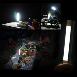 Led Emergency Light Stick Lamp For Outdoor Rechargeable Portable 3 -Level Adjustable Brightness Usb Charge Sos Mode Tube Light For Outdoor on Sale