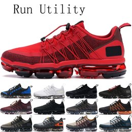 Lighting bounce online shopping - 2019 Fashion vapors Run Utility mens women running shoes triple black Urban Bounce men trainers sports joyride des chaussures size