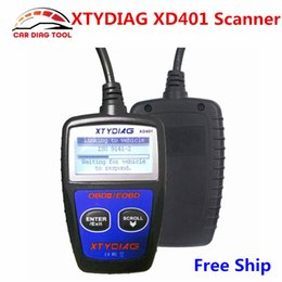 xd reader Australia - New Arrival XTYDIAG XD401 OBD2 OBDII Scanner XD 401 Auto Code Reader Can Bus Diagnostic-Tool Support All OBD-II Protocols