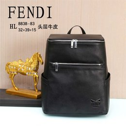 Wholesale Designer luxury men s backpack luxury fashion high quality business bag leather fashion style men s bag designer fashion backpack wallet