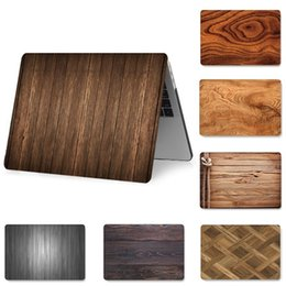 $enCountryForm.capitalKeyWord Australia - Fashion Wood Painted Laptop Case for MacBook Retina Pro Air 13 15 12 inch Hard Shockproof Cases for A1990 A1706 A1398 PVC Cover
