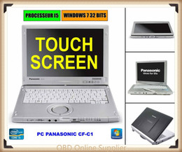 7 Wifi Tablet Australia - Panasonic toughbook touchscreen cf-c1 Laptop Tablet Core i5 2.5GHz 4GB Ram 6GB RAM Win 7 for Star C3 C4 C5 C6 ICOM A2 A3 ICOM P