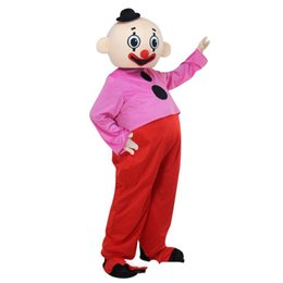 clown mascot costume adult UK - 2018 High quality hot Adult Character Bumba brothers mascot costume Pipo clown mascot Costume Fancy Dress Outfit with free shipping