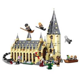 $enCountryForm.capitalKeyWord Australia - 926pcs Harry Movie Potter Sets 16052 Compatible With Model Building Kits Castle Hall Blocks Toys 75954 Jp39144 J190722
