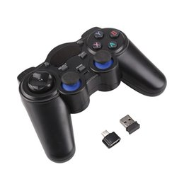 $enCountryForm.capitalKeyWord Australia - New Wireless Gaming Joypad Controller 2.4GHz Gamepad With Micro USB OTG Converter Adapter For Android Tablets PC TV Box