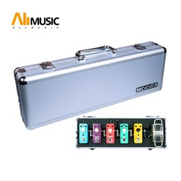 Wholesale Mooer Second Generation guitar pedal box Flight Case Firefly M6 guitar effect pedal case for mooer Series Pedal