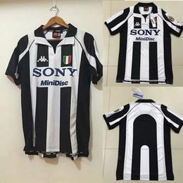96f0cbb56 Retro 1997 98 Juventus Centenary Alessandro Del Piero 10 ZIDANE home Soccer Jersey  Football Shirt Trikot Maglia Camiseta De Fútbol Juventus