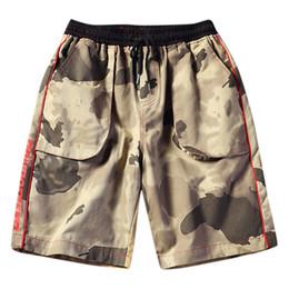 $enCountryForm.capitalKeyWord Australia - Fashion Men's Sport Camouflage Pocket Short Casual Loose Sweatpants Drawstring Short Slim Fit Men Casual Sport Shorts 40JU26