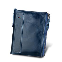 $enCountryForm.capitalKeyWord UK - Hot!!! Genuine Leather Women Wallet Purses Coin Purse Female Small Portomonee Bifold Rfid Wallet Lady Purse For Girls Money Bag MX190718