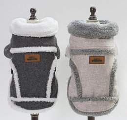 Stock Clothes Winter Australia - New 18 Nordic jacket for pet dog clothes in stock in autumn and winter