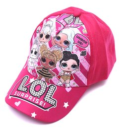 Boys peak cap online shopping - Children cartoon doll Print Baseball Cap Kids Boys Girls Cartoon printing peaked hat adjustable cap zx02