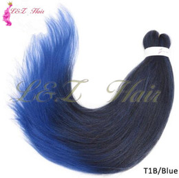 Perms For Hair Australia - Pre Stretched Ombre Braiding Hair Jumbo Braid Hair Perm Yaki Ez Braid Synthetic Hair Extensions for Crochet Twist