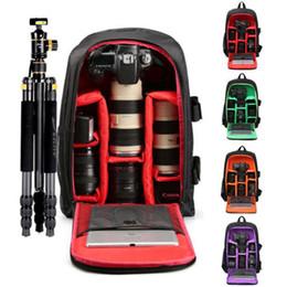 Dslr Cameras Bags Australia - Digital Camera Backpack Bag Practical Portable Outdoor Waterproof Shockproof Laptop DSLR SLR Camera Case Durable New
