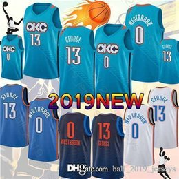 $enCountryForm.capitalKeyWord UK - Paul 13 George jersey Russell 0 Westbrook Basketball Jerseys 2019 new Hot Sale top quality men jerseys