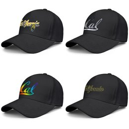 trees cap NZ - CALIFORNIA GOLDEN BEARS Football Coconut tree logo Men's Women Adjustable Baseball Cap fitted Golf Hat Core Smoke Gay pride rainbow