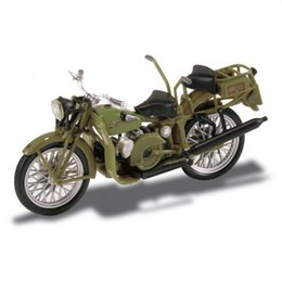 motorcycle collection UK - rare Out of print Mot Guz Superalce (1946) Starlin 1:22 Retro Motorcycle Model Semi alloy Collection model