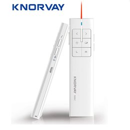 wireless presenter remotes Australia - Knorvay N99 New Rechargeable Wireless Air Mouse Presenter, 2.4GHz PPT Presentation Wireless Remote Control Clicker