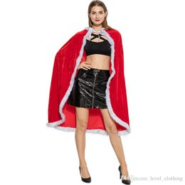 $enCountryForm.capitalKeyWord Australia - New Christmas season character dress up Christmas clothes children adult Halloween supplies holiday atmosphere Christmas cloak Free