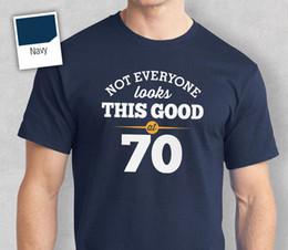 $enCountryForm.capitalKeyWord Australia - 70th Birthday Gift Present Idea For Boys Dad Him & Men T Shirt 70 Tee ShirtsFunny free shipping Unisex Casual top